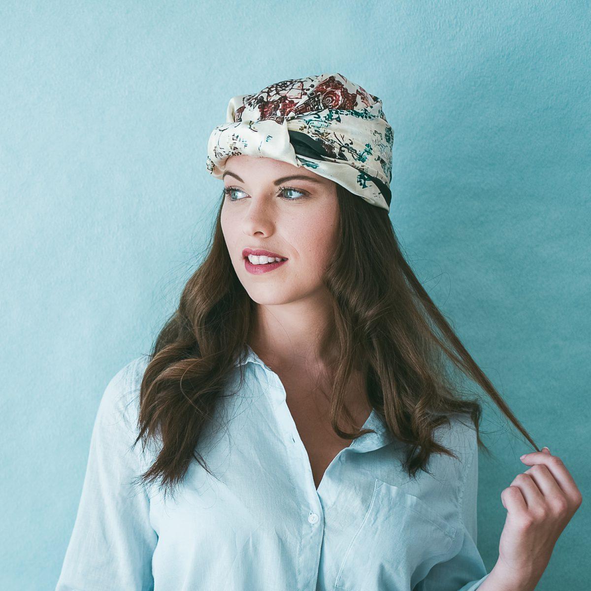 Âmulet Foulard ATLAS Oasis fashion headwrapped style