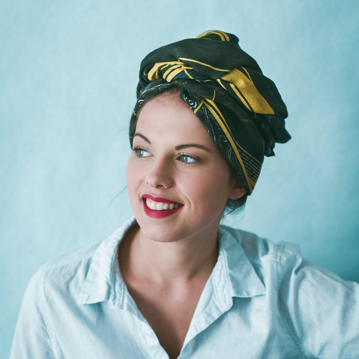 Âmulet Foulard Follow Rivers fashion headwrapped style