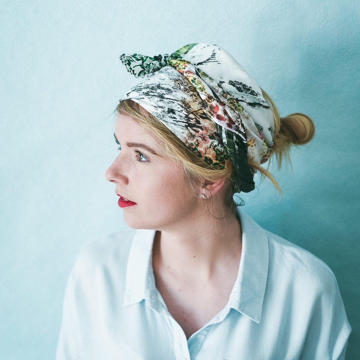 Âmulet Foulard HOZAN JI fashion headwrapped style