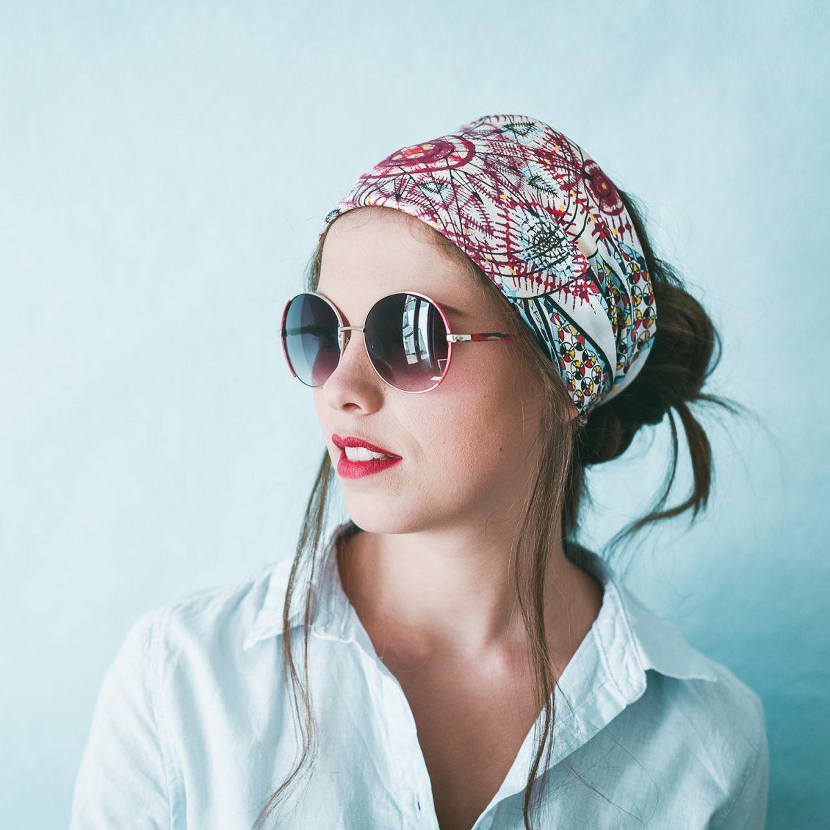 Âmulet Foulard Médecine fashion headwrapped style