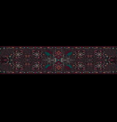 Stole Akna Autumn amulet print