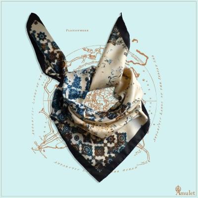 Foulard Atlas Désert amulet
