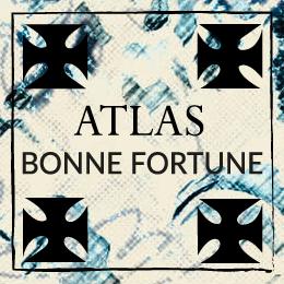 Foulard Atlas désert amulet symbolique français