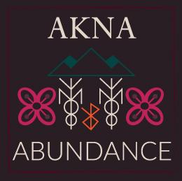 Stole Akna Autumn amulet symbolism