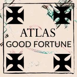 Scarf Atlas oasis amulet symbolism