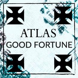 Scarf Atlas Sky amulet symbolism