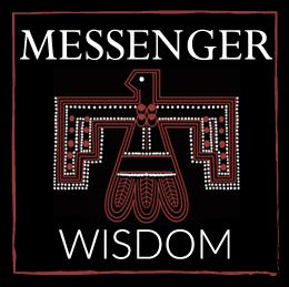 Scarf Messenger Black Hawk amulet symbolism