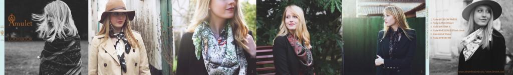 LOOKBOOK Âmulet foulards presentation